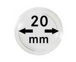 Монетные капсулы с внутренним диаметром 20 мм, в комплекте 10 штук. 2250020P.