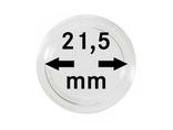 Монетные капсулы с внутренним диаметром 21.5 мм, в комплекте 10 штук. 2250215P.