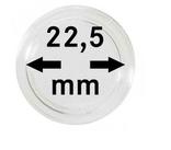 Монетные капсулы с внутренним диаметром 22.5 мм, в комплекте 10 штук. 2250225P.