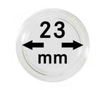Монетные капсулы с внутренним диаметром 23 мм, в комплекте 10 штук. 2250023P.