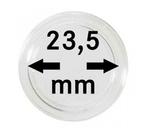 Монетные капсулы с внутренним диаметром 23.5 мм, в комплекте 10 штук. 2250235P.