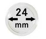 Монетные капсулы с внутренним диаметром 24 мм, в комплекте 10 штук. 2250024P. фото 1