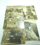Фото открытки 5шт Сочи Крым Ласточкино гнездо девушки 1950е годы, фото №2