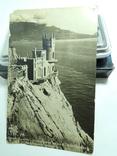 Фото открытки 5шт Сочи Крым Ласточкино гнездо девушки 1950е годы, фото №9