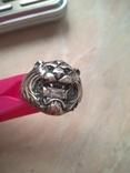 Перстень 925 пробы с камнем