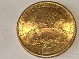20 долларов сша 1900 г. Золото, фото №2