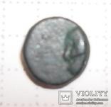Пантикапей Боспор №140+ Аполлон/дельфин вправо дихалк, фото №3