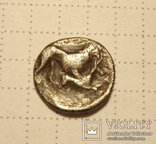 Пантикапей Боспор №98 Сатир/лев+лань гемидрахма, фото №4