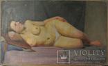 Обнаженная натурщица в постели 1954г., фото №4