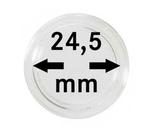 Монетные капсулы с внутренним диаметром 24.5 мм, в комплекте 10 штук. 2250245P.