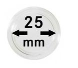 Монетные капсулы с внутренним диаметром 25 мм, в комплекте 10 штук. 2250025P.