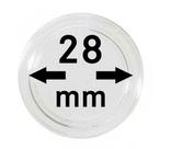 Монетные капсулы с внутренним диаметром 28 мм, в комплекте 10 штук. 2250028P.