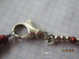 Бусы серебро 925 эмаль (Китайский лак), фото №6