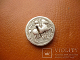 Филипп II Македонский подражание Тетрадрахма