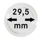 Монетные капсулы с внутренним диаметром 29.5 мм, в комплекте 10 штук. 2250295P.