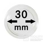 Монетные капсулы с внутренним диаметром 30 мм, в комплекте 10 штук. 2250030P.