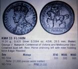 1 флорин (пам'ятний 1934 року). Австралія - срібло 925. См. обсуждение. photo 7