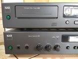 Усилитель NAD-701+CD NAD-502, фото №3