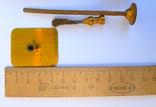 Старинный прибор в деревянном футляре., фото №4
