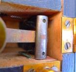 Старинный прибор в деревянном футляре., фото №10