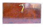 Старинный прибор в деревянном футляре., фото №12
