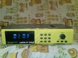 Приемник трехпрограммный с часами таймером Ласпи ПТ 203 СССР, фото №2