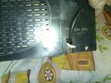 Приемник трехпрограммный с часами таймером Ласпи ПТ 203 СССР, фото №6