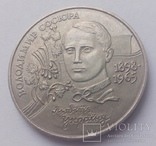 2 гривні 1998 В.Сосюра d=33мм R, фото №2