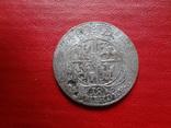 18 грошей 1754 Орт Польша серебро  (4.2.31)~, фото №2