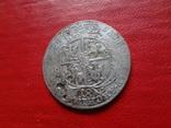 18 грошей 1754 Орт Польша серебро  (4.2.31)~, фото №3