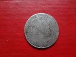 18 грошей 1754 Орт Польша серебро  (4.2.31)~, фото №5