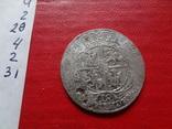 18 грошей 1754 Орт Польша серебро  (4.2.31)~, фото №7