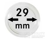 Монетные капсулы с внутренним диаметром 29 мм, в комплекте 10 штук. 2250029P.