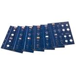 CLASEUROBL1SET Альбом VISTA для наборов eвромонет (12 стран) с футляром фото 2
