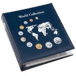 """324055 Альбом для монет Leuchtturm, NUMIS """"World Collection"""" с 5 листами для 143 монет"""