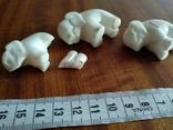 Фигурки три слона, фото №9