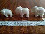 Фигурки три слона, фото №11