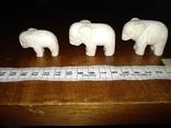 Фигурки три слона, фото №2