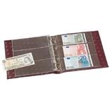 330619.Альбом для банкнот Leuchtturm, NUMIS с футляром, (20 листов), красный фото 2