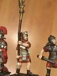 """Фігурки сувенірні із олова """"Римська армія"""" 5 штук., фото №7"""