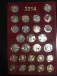 Набор Монет нбу 2014 года, фото №2