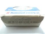 "Картонная коробка от батареек 1989 год National Hyper size ""C"", фото №8"