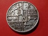 3 марки 1927 Марбург университет Филипс