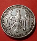 3 марки 1927 Марбург университет Филипс, фото №3