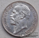 1 крона 1904 Лихтенштейн серебро