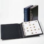 343349 Альбом Leuchtturm, GRANDE для монет в холдерах на 200 монет, с футляром, черный