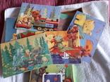 Два набора игр мини бильярд и пазлы СССР, фото №6