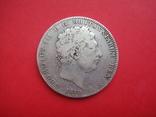 Крона, Англия, Георг III, 1819 г.. серебро