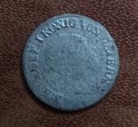 1 крейцер 1821   Бавария  серебро   (М.2.10)~, фото №2