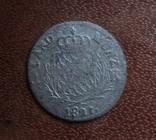 1 крейцер 1821   Бавария  серебро   (М.2.10)~, фото №3
